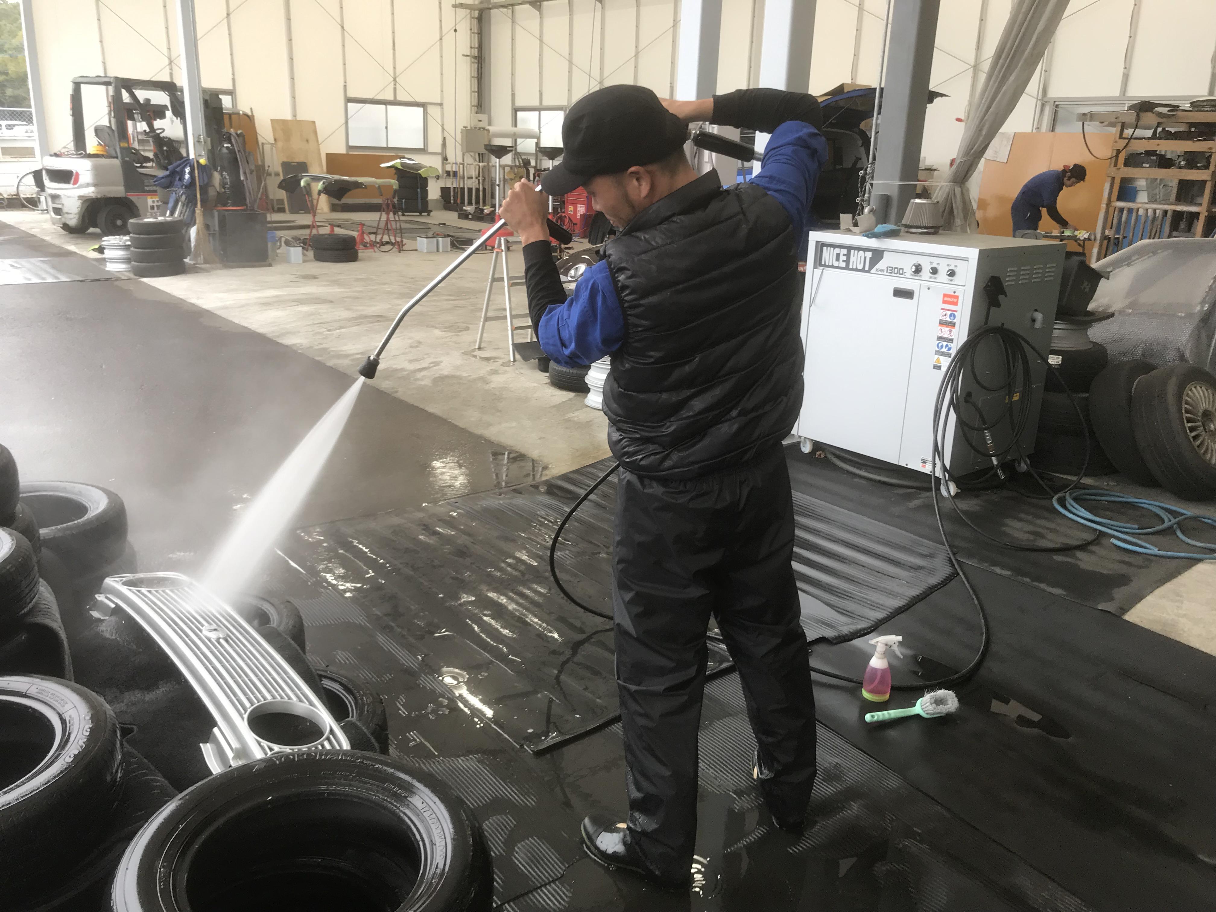 4. パーツの洗浄